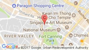 Regency House location map
