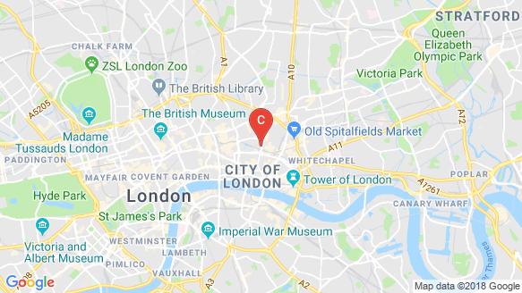 Principal Tower location map